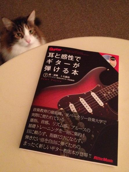 トモ藤田さんの教則本『耳と感性でギターが弾ける本』_f0181924_1058504.jpg