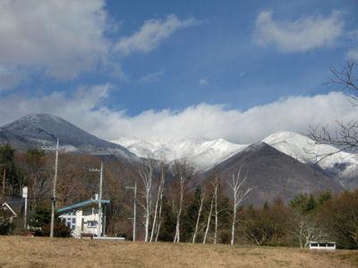 八ヶ岳が真っ白!_f0019247_1603756.jpg