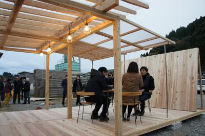 飫肥杉でつくる小屋のような屋台のような 『koyatten』_f0138874_14451987.jpg