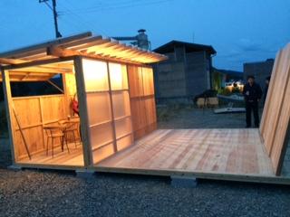 飫肥杉でつくる小屋のような屋台のような 『koyatten』_f0138874_14455056.jpg