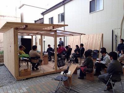 飫肥杉でつくる小屋のような屋台のような 『koyatten』_f0138874_15534643.jpg