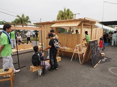 飫肥杉でつくる小屋のような屋台のような 『koyatten』_f0138874_15585668.jpg