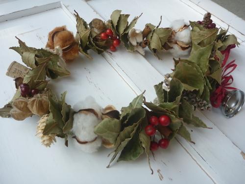 プレール クリスマスのガーランド作り_a0243983_13013346.jpg