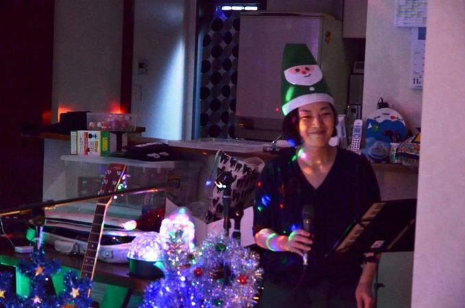 11月29日、ちょっと早いクリスマスコンサート@少年宅♪_e0188087_20572213.jpg