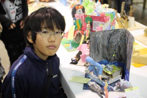 兵庫県児童生徒彫塑展_e0069822_23214487.jpg
