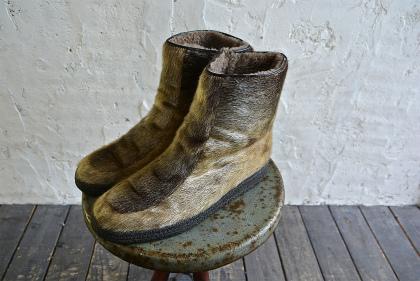 Seal skin & fur boots_f0226051_1611620.jpg