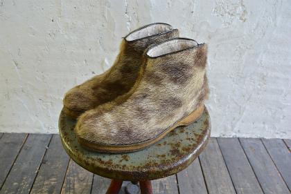 Seal skin & fur boots_f0226051_16243483.jpg