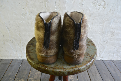 Seal skin & fur boots_f0226051_16245097.jpg