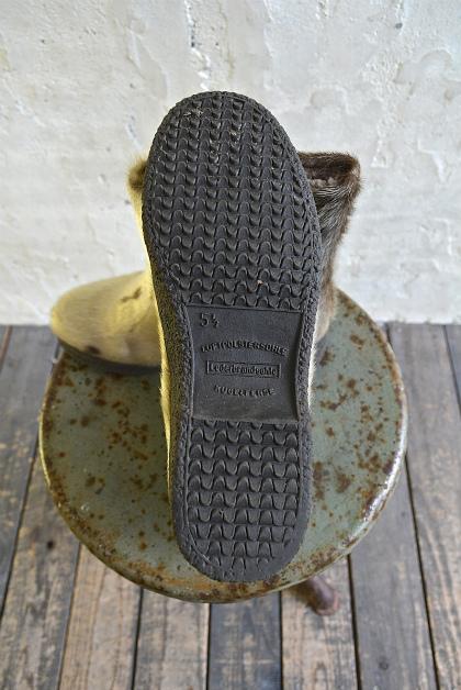 Seal skin & fur boots_f0226051_16312080.jpg