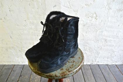Seal skin & fur boots_f0226051_1632305.jpg