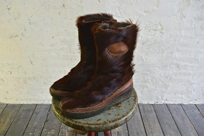 Seal skin & fur boots_f0226051_1638638.jpg
