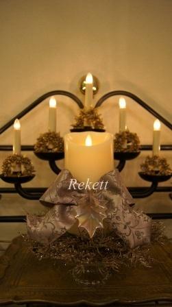 REKETTオリジナルクリスマスキャンドル!_f0029571_4302393.jpg