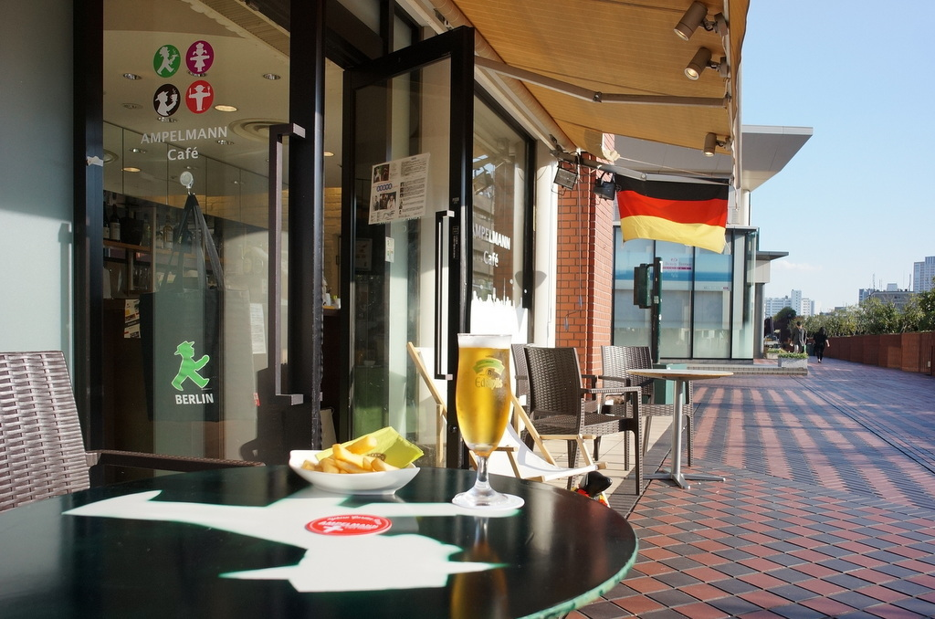 帰国日記@ベルリン⑤天気良い日のテラスは最高in恵比寿。_c0180686_02331018.jpg