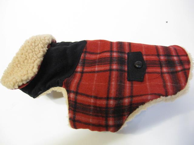 Wool ボア付きコート&チャンキータートルセーター  モデルはライス君♪_c0151934_23581934.jpg