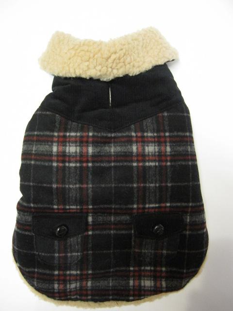 Wool ボア付きコート&チャンキータートルセーター  モデルはライス君♪_c0151934_23583331.jpg