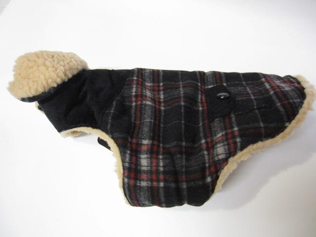 Wool ボア付きコート&チャンキータートルセーター  モデルはライス君♪_c0151934_23584249.jpg