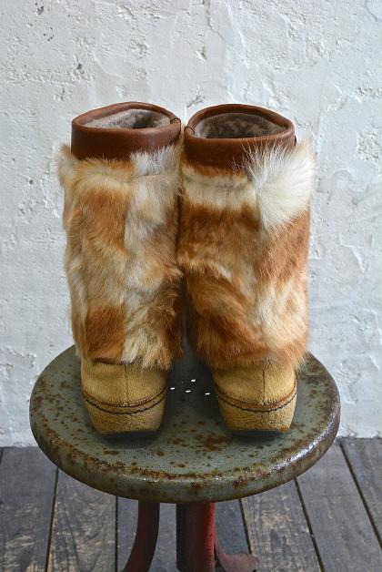 Seal skin & fur &snow boots vol\'2_f0226051_1512478.jpg