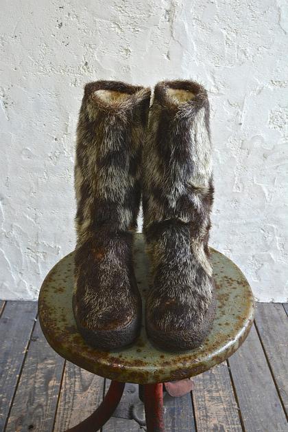 Seal skin & fur &snow boots vol\'2_f0226051_1542397.jpg