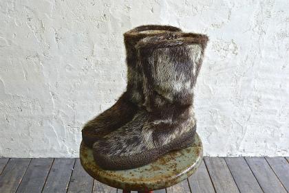 Seal skin & fur &snow boots vol\'2_f0226051_1544239.jpg
