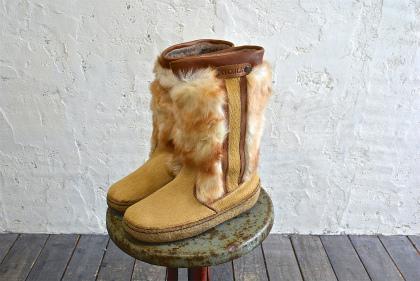 Seal skin & fur &snow boots vol\'2_f0226051_1573513.jpg