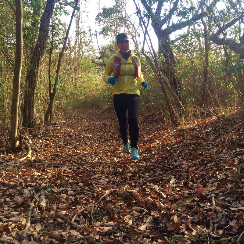 道場百丈岩周辺 Mountain Running 2014/12/03_b0220886_22265358.jpg