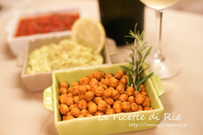 "Ceci croccanti al curry ☆ 簡単おつまみ\""カレー味のひよこ豆\""_b0246303_02054364.jpg"
