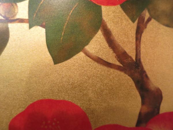 美登さんの椿とコスモス_a0197730_22000442.jpg