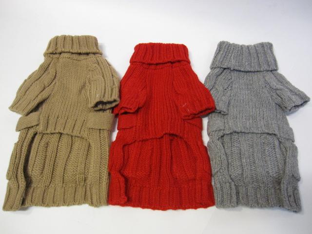 Wool ボア付きコート&チャンキータートルセーター  モデルはライス君♪_c0151934_0104346.jpg