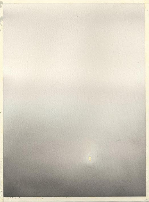 朝霧 水彩画_f0176370_1720854.jpg