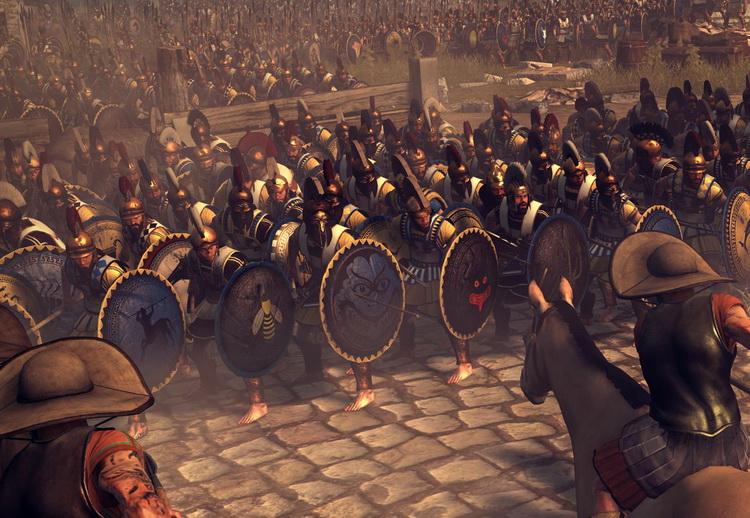 為什麼古希臘人打仗喜歡赤腳?_e0040579_2404339.jpg