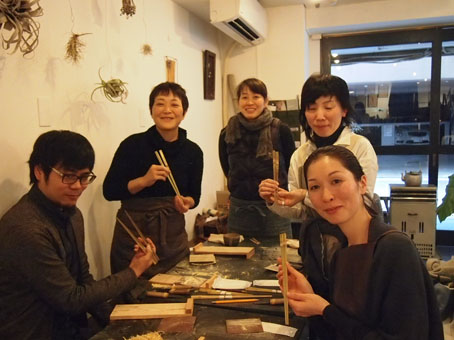 竹のお箸づくりワークショップ_b0322280_050282.jpg