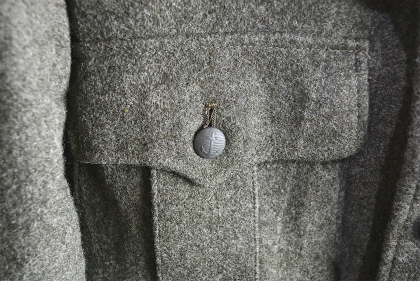Swedish army M39 wool coat dead stock_f0226051_14195441.jpg