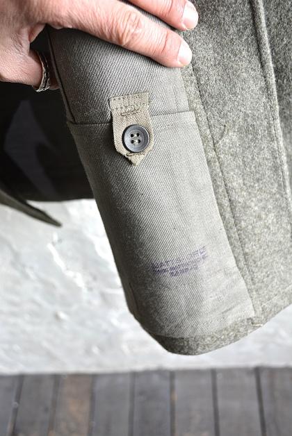 Swedish army M39 wool coat dead stock_f0226051_14212532.jpg