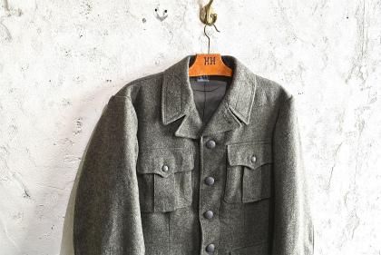 Swedish army M39 wool coat dead stock_f0226051_1475687.jpg