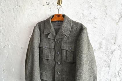 Swedish army M39 wool coat dead stock_f0226051_1481548.jpg