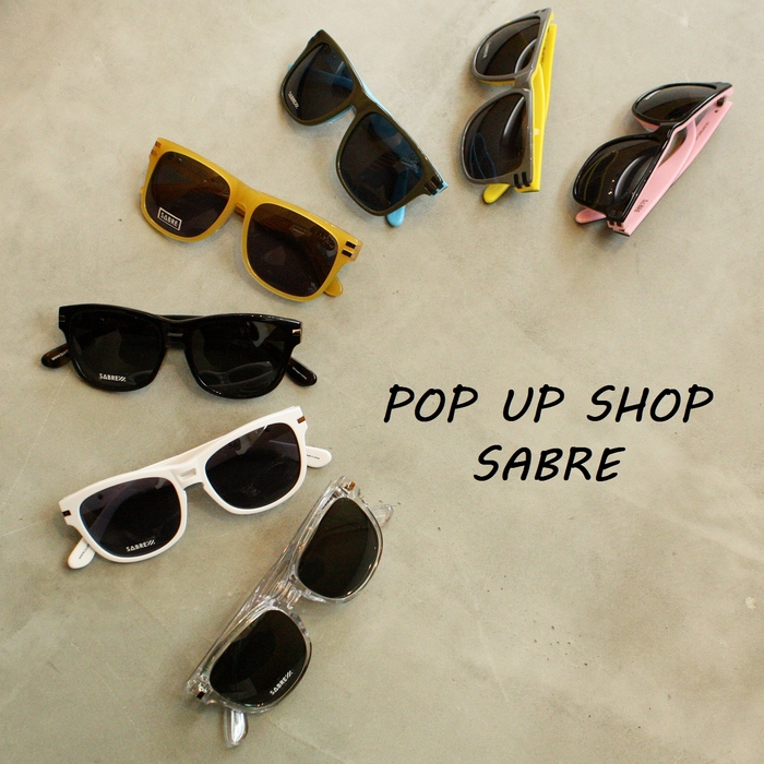 「SABRE VELOCITY、HEARTBREAKER from GB POP UP SHOP」_f0208675_18504797.jpg