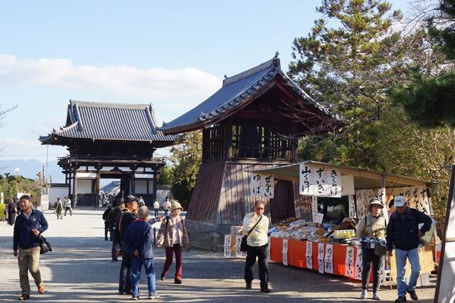 晩秋奈良の旅、奈良當麻寺の秋お寺と紅葉、日本一の紅葉を求めて藤田八束、當麻寺西南院の庭園の紅葉_d0181492_21255740.jpg