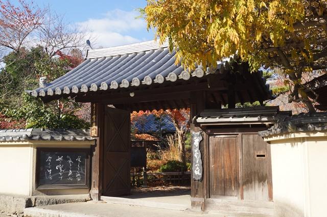 晩秋奈良の旅、奈良當麻寺の秋お寺と紅葉、日本一の紅葉を求めて藤田八束、當麻寺西南院の庭園の紅葉_d0181492_21261966.jpg