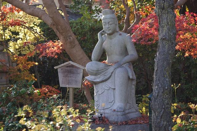 晩秋奈良の旅、奈良當麻寺の秋お寺と紅葉、日本一の紅葉を求めて藤田八束、當麻寺西南院の庭園の紅葉_d0181492_21273134.jpg