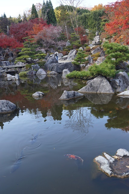 當麻寺奥院の秋 浄土庭園 浄土の世界を満喫_d0181492_2143323.jpg