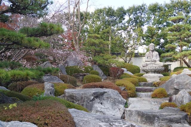 當麻寺奥院の秋 浄土庭園 浄土の世界を満喫_d0181492_21443851.jpg