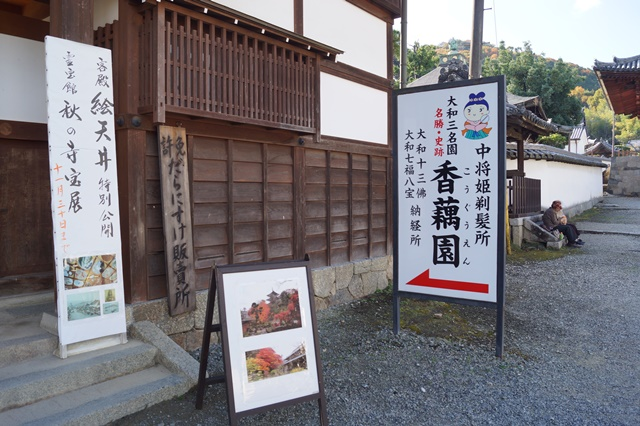 奈良件葛西市當麻寺中之坊を訪問 奈良文化に触れる_d0181492_21501185.jpg