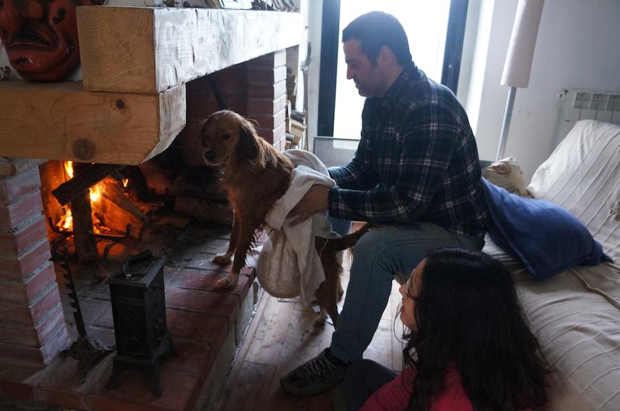 日曜日の午後は暖炉の前で_f0106597_1575873.jpg