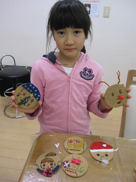 松井山手教室 ~クリスマス工作~_f0215199_15425196.jpg