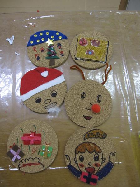 松井山手教室 ~クリスマス工作~_f0215199_154379.jpg