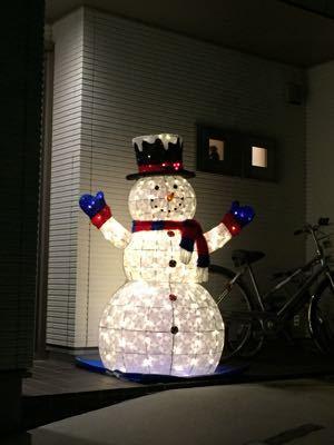 Snow man!_f0144003_18554551.jpg
