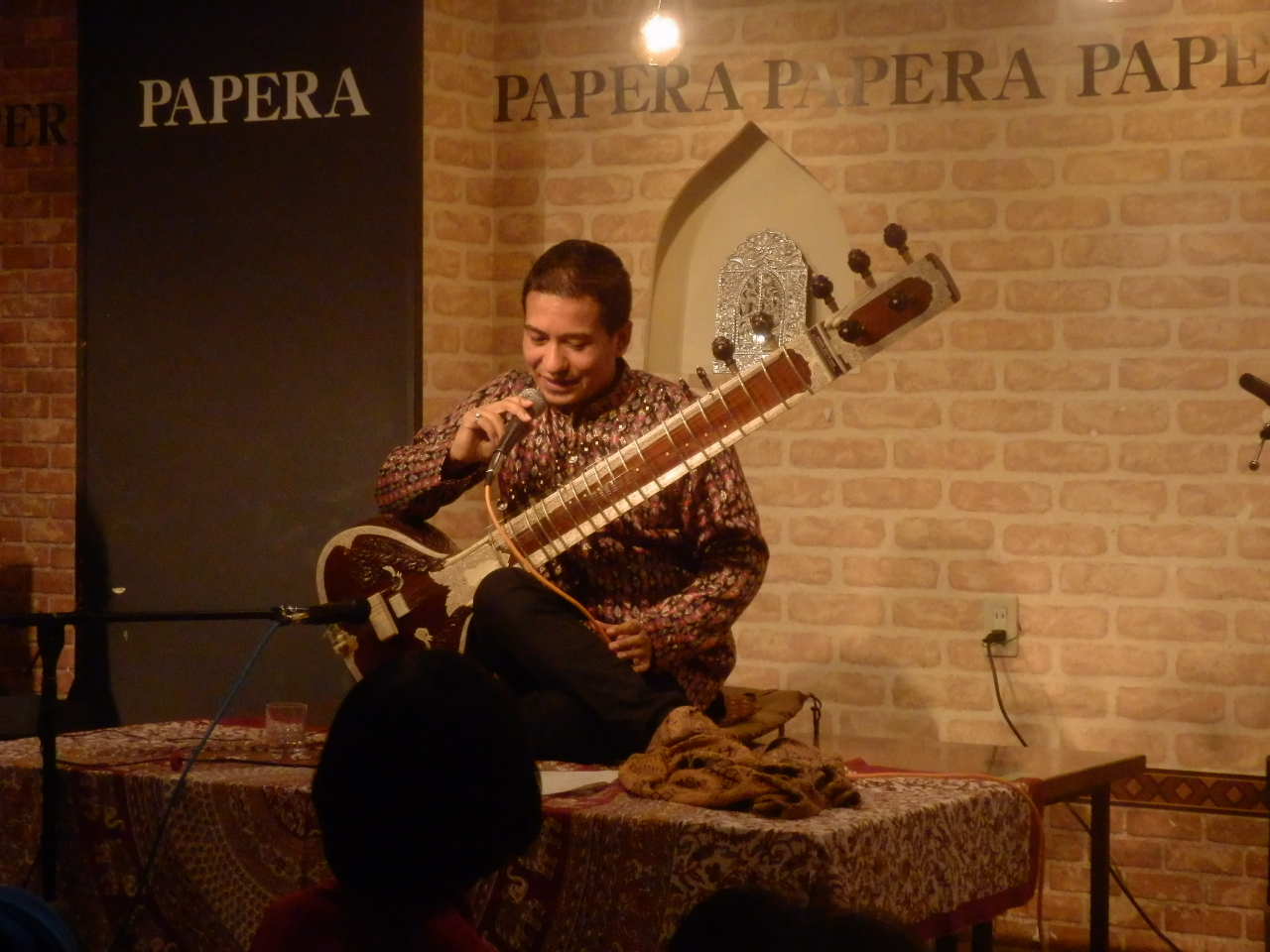 12/4(金)『SAWAN JOSHI SITAR LIVE ! WITH HOT & SPACY CURRY』_f0076907_14365748.jpg