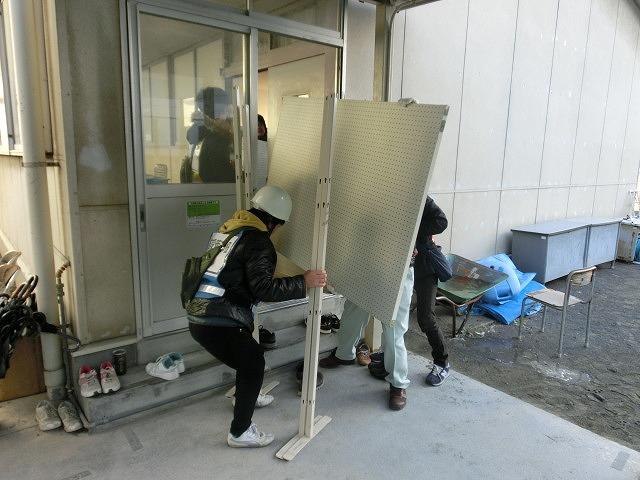 成果以上に課題が多かった 約450名が参加しての第2回吉原高校避難所開設・運営訓練_f0141310_80021.jpg