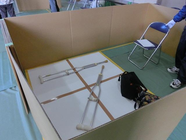 成果以上に課題が多かった 約450名が参加しての第2回吉原高校避難所開設・運営訓練_f0141310_8102367.jpg