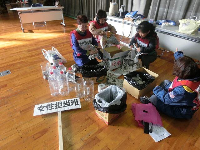 成果以上に課題が多かった 約450名が参加しての第2回吉原高校避難所開設・運営訓練_f0141310_811678.jpg